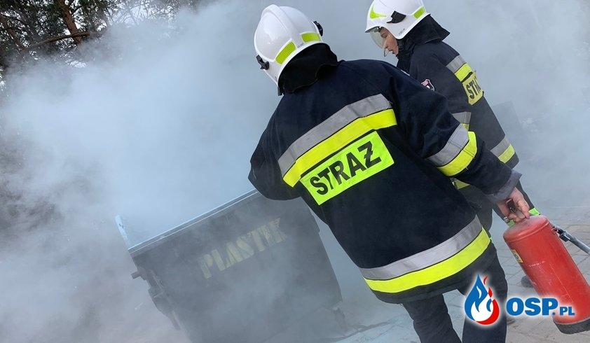 [02P/2019] Pożar Śmietnika Podczas Wszystkich Świętych. OSP Ochotnicza Straż Pożarna