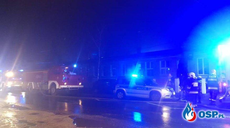 Pożar budynku – nie żyje jedna osoba OSP Ochotnicza Straż Pożarna