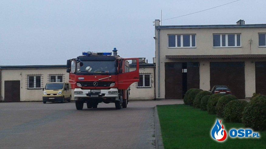 Zabezpieczenie operacyjne, pożar suchych traw  OSP Ochotnicza Straż Pożarna