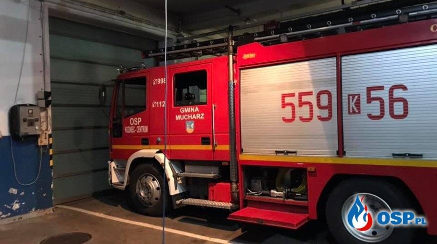 Alarm 16/2019 OSP Ochotnicza Straż Pożarna