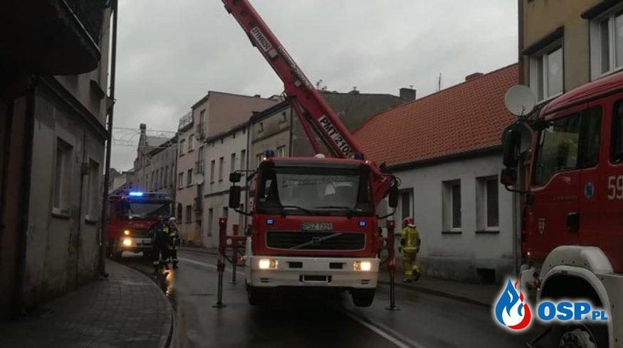 Wronki – pożar sadzy OSP Ochotnicza Straż Pożarna