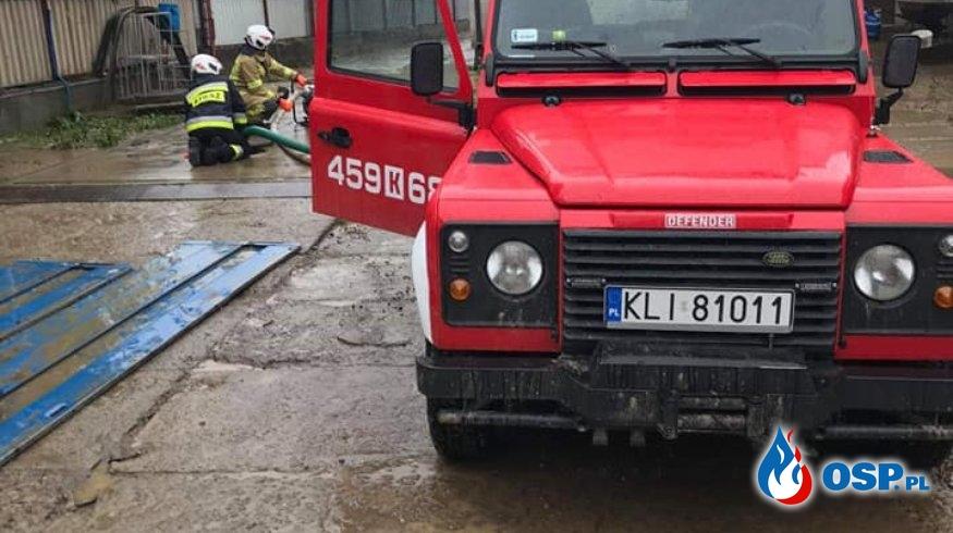 LOKALNE PODTOPIENIA OSP Ochotnicza Straż Pożarna