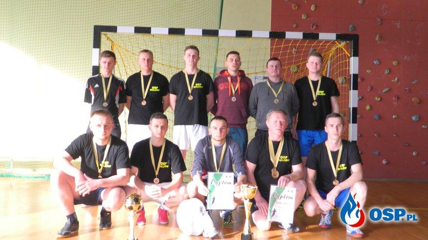 Turniej halowej piłki nożnej jednostek OSP z terenu Gminy Ogrodzieniec OSP Ochotnicza Straż Pożarna