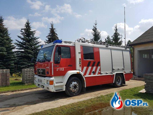 MAN już w OSP JARCZEW OSP Ochotnicza Straż Pożarna