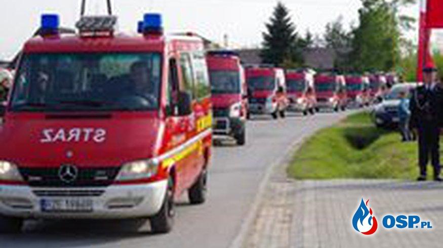 Dzień Strażaka,Jubileusz,Nowy samochód. OSP Ochotnicza Straż Pożarna