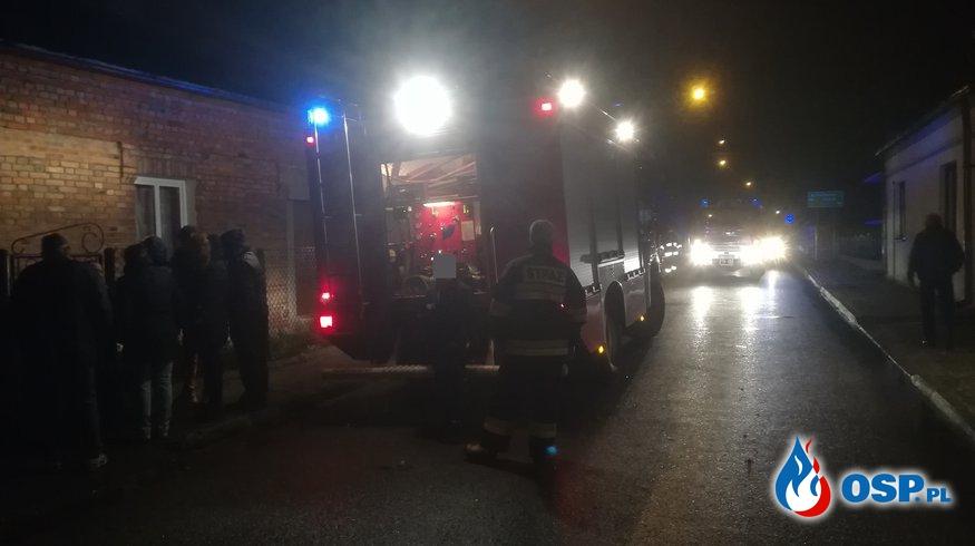 Pożar domu jednorodzinnego OSP Ochotnicza Straż Pożarna