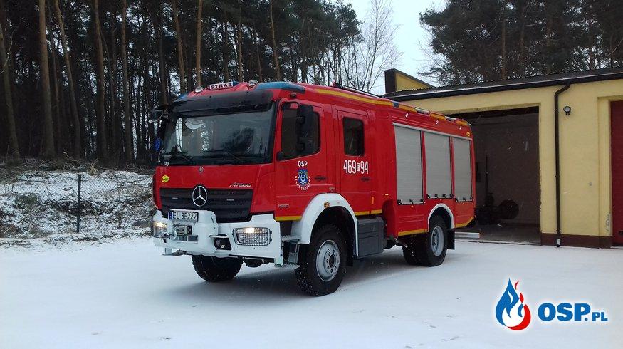 NOWY SAMOCHÓD DLA OSP STARE SKOSZEWY OSP Ochotnicza Straż Pożarna
