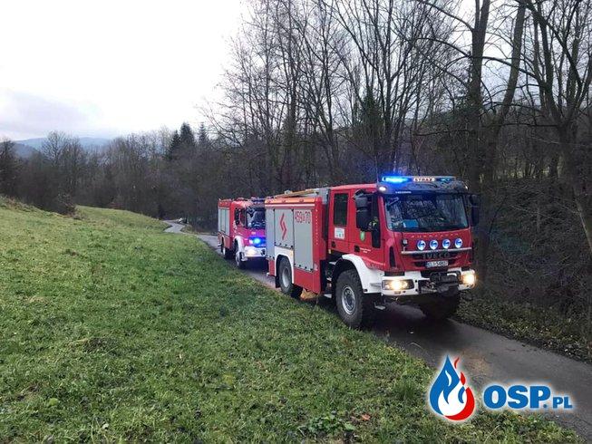 POWALONE DRZEWO - ZERWANE LINKI OSP Ochotnicza Straż Pożarna