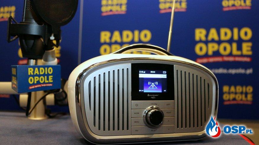 Radio Opole z wizytą w naszej jednostce OSP Ochotnicza Straż Pożarna