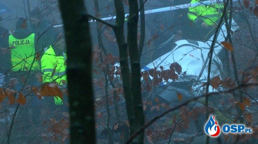 Poszukiwania zaginionego Helikoptera - Wysoka Wieś OSP Ochotnicza Straż Pożarna