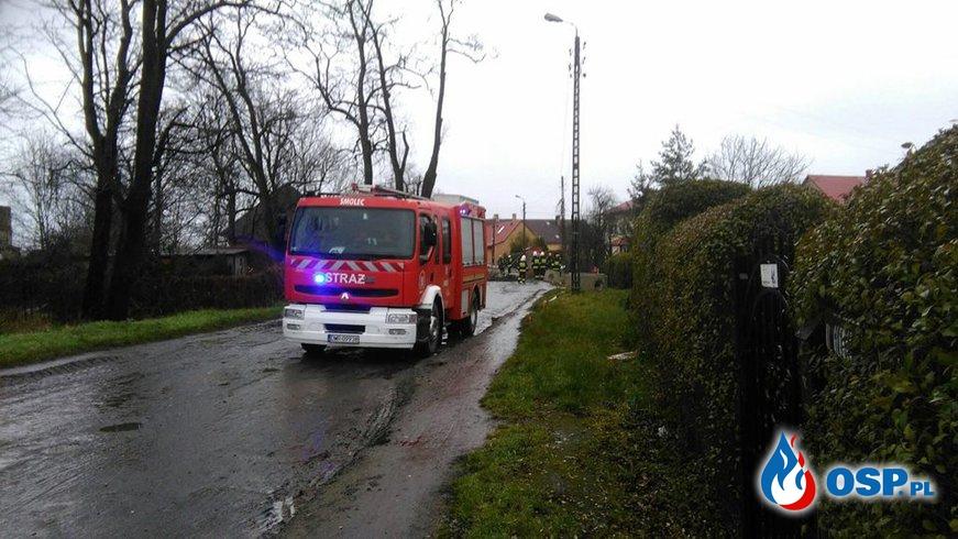 ROZSZCZELNIONY GAZOCIĄG OSP Ochotnicza Straż Pożarna