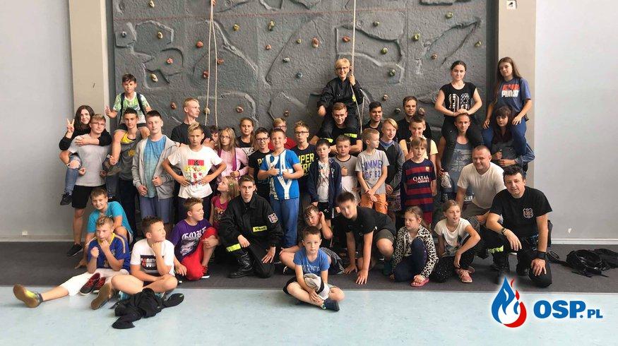 Obóz szkoleniowo - wypoczynkowy w Węgierskiej Górce OSP Ochotnicza Straż Pożarna