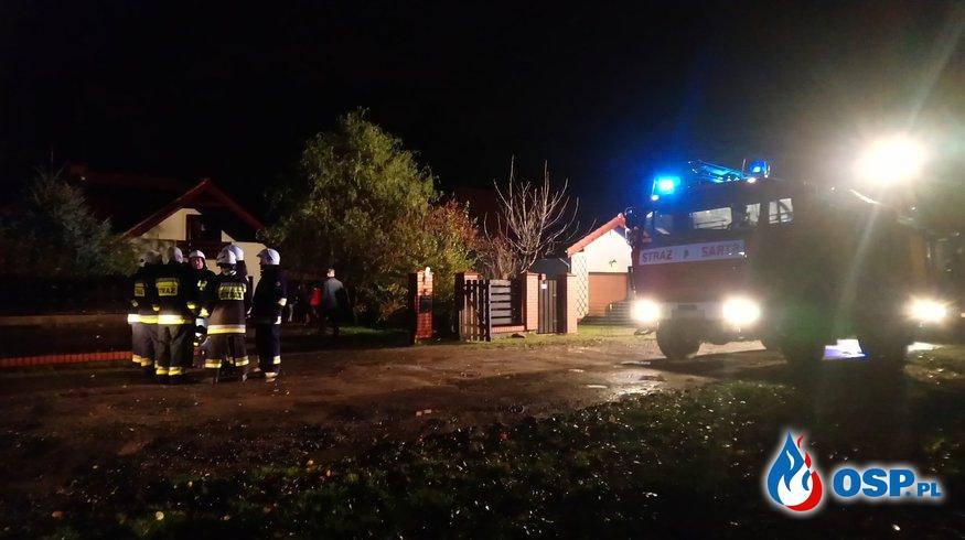 Pożaru domu jednorodzinnego! OSP Ochotnicza Straż Pożarna