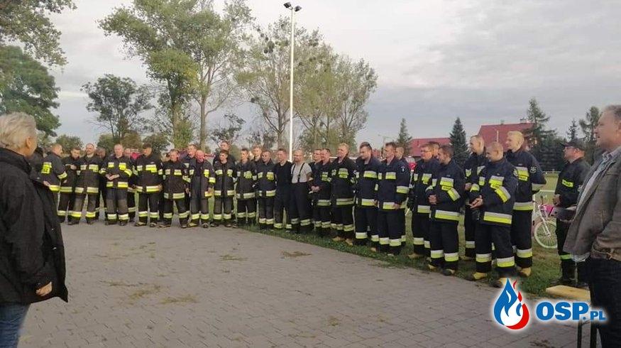 Gminne Manewry Strazackie 2019 w Jankowicach Wielkich OSP Ochotnicza Straż Pożarna