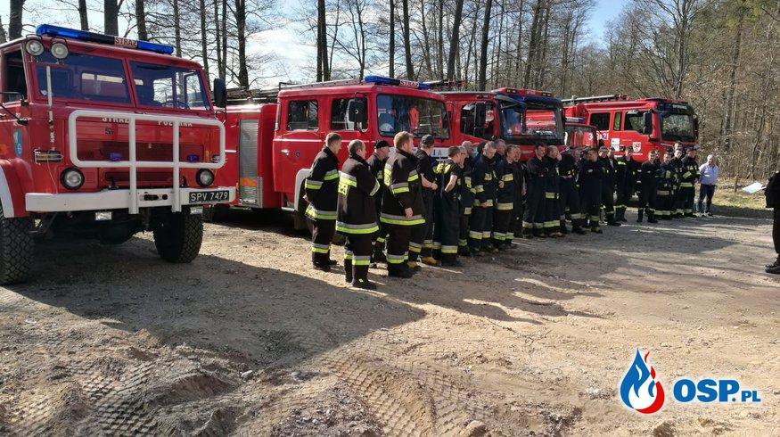 Manewry gminne jednostek z gminy Kępice OSP Ochotnicza Straż Pożarna