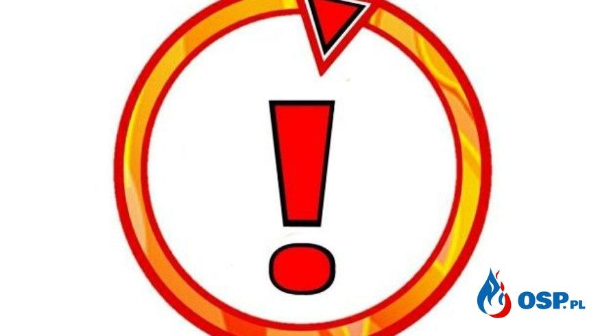 Głuchowo – pożar zboża OSP Ochotnicza Straż Pożarna