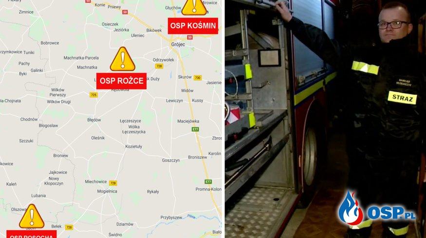 Trwa seria włamań do remiz jednostek OSP. Policja prosi o czujność! OSP Ochotnicza Straż Pożarna
