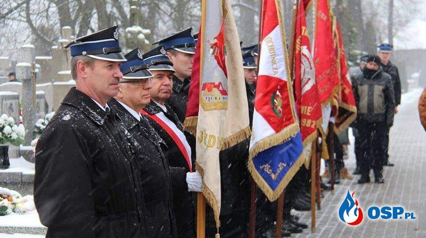 Dnia 27 stycznia 2019 roku nasza jednostka uczestniczyła w uroczystosci poświęconej bohaterom powstania styczniowego. OSP Ochotnicza Straż Pożarna