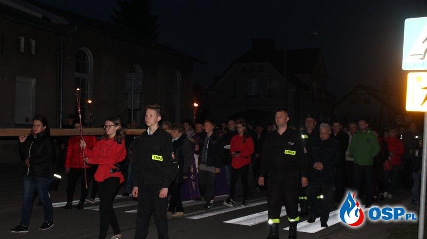 Droga Krzyżowa 2019 OSP Ochotnicza Straż Pożarna