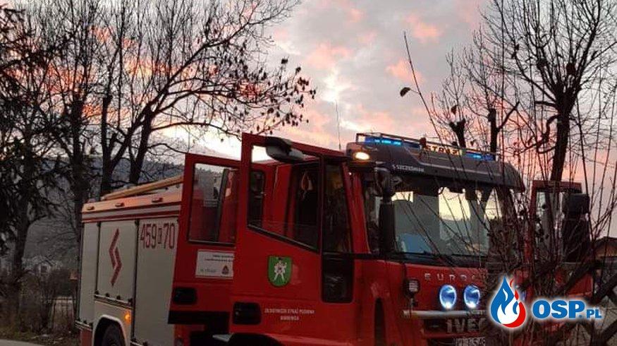 POŻAR SADZY OSP Ochotnicza Straż Pożarna