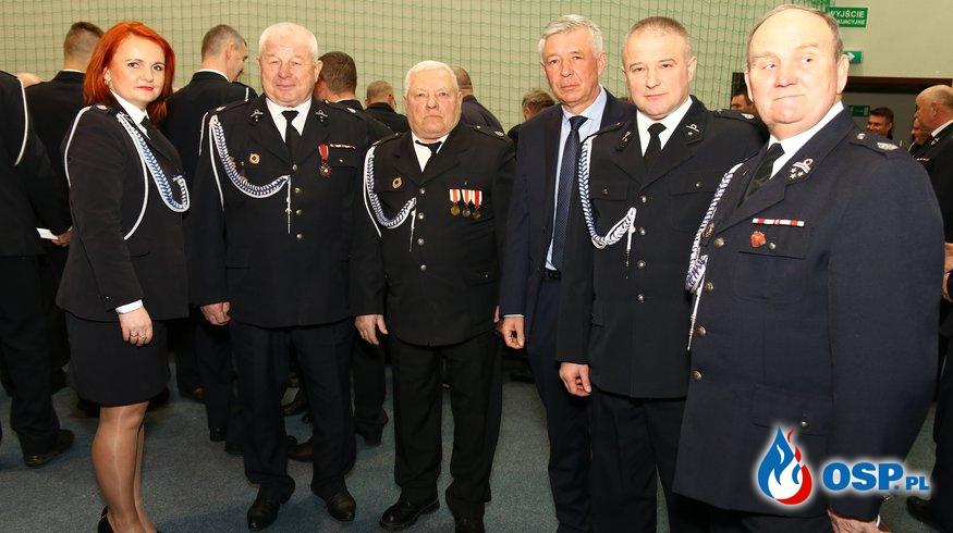 Noworoczne spotkanie służb mundurowych 2018 OSP Ochotnicza Straż Pożarna