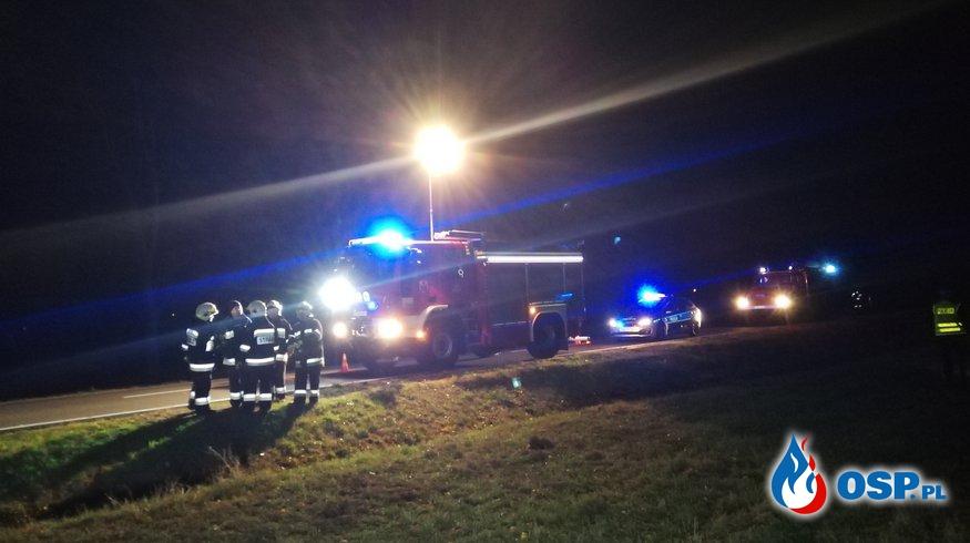 Wypadek na DK31- przerwane działania w Mieszkowicach OSP Ochotnicza Straż Pożarna