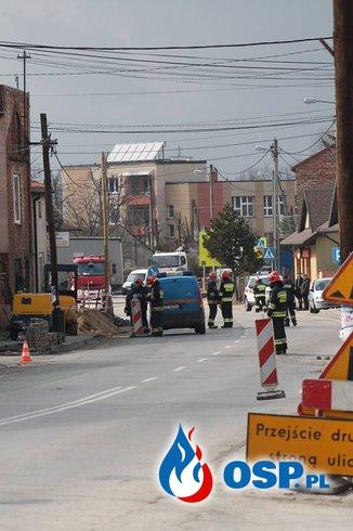 Interwencja 2/2016 Rozszczelnienie gazociągu OSP Ochotnicza Straż Pożarna