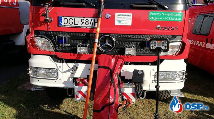 Nowy sprzęt z dotacji Ministerstwa Sprawiedliwości OSP Ochotnicza Straż Pożarna