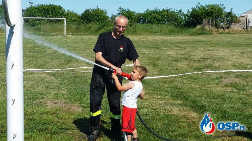 Pożarowo - Dzień dziecka. OSP Ochotnicza Straż Pożarna