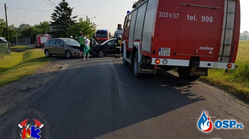 Wypadek w Dziekaństwie OSP Ochotnicza Straż Pożarna
