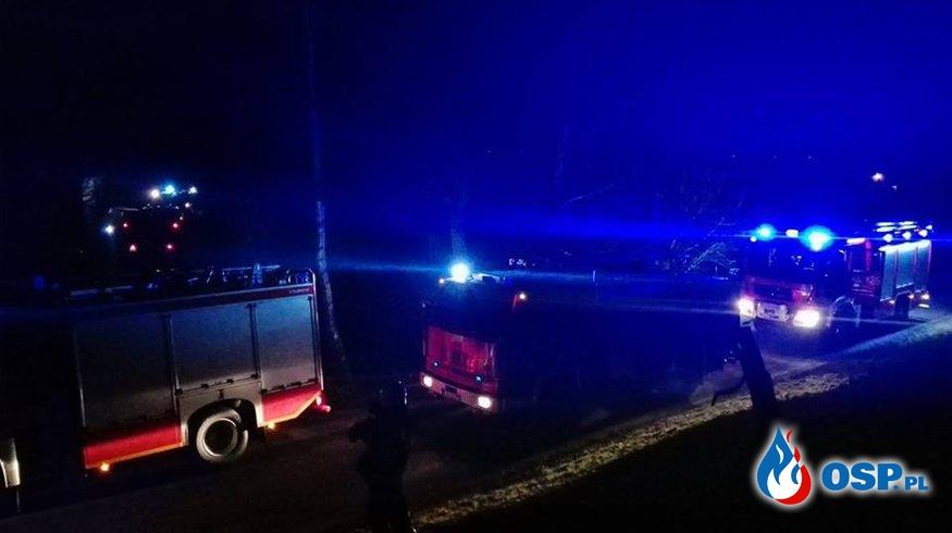 Pożar Piwnicy Czarże OSP Ochotnicza Straż Pożarna