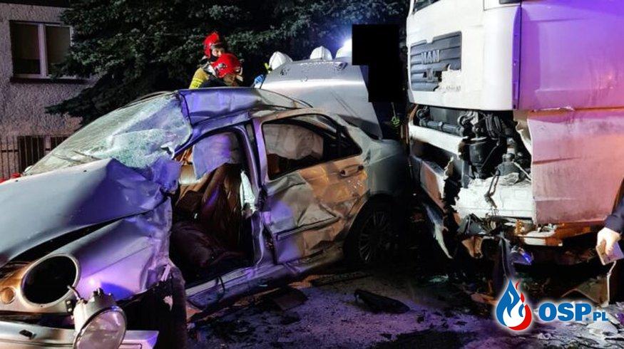 Wronki – Tragedia na drodze! Nie żyje mężczyzna OSP Ochotnicza Straż Pożarna