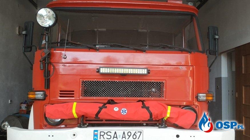 Nowy sprzęt od WORD OSP Ochotnicza Straż Pożarna