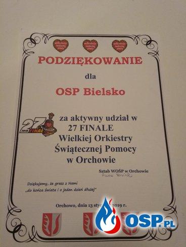 Wielka Orkiestra Świątecznej Pomocy 2019 OSP Ochotnicza Straż Pożarna