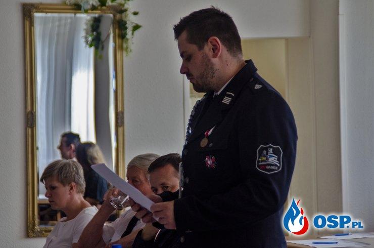 Walne Zebranie Sprawozdawcze za rok 2019 OSP Ochotnicza Straż Pożarna