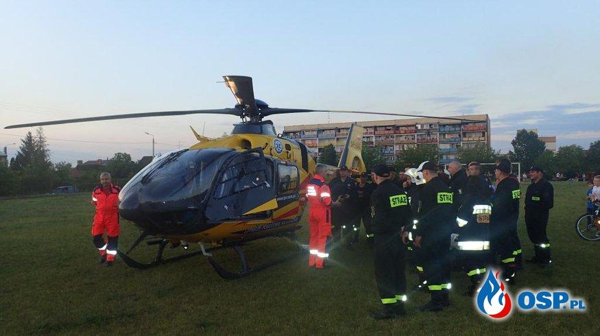 Szkolenie z zakresu współpracy z LPR OSP Ochotnicza Straż Pożarna