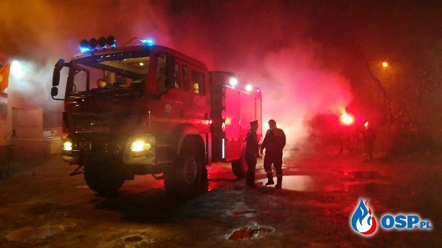 Powitanie nowego samochodu ratowniczo - gaśniczego GBA Marki MAN OSP Ochotnicza Straż Pożarna
