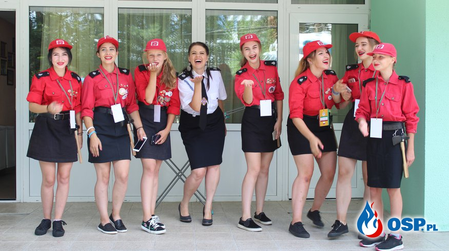 XVI Międzynarodowy Zlot Młodzieży Pożarniczej OSP Ochotnicza Straż Pożarna