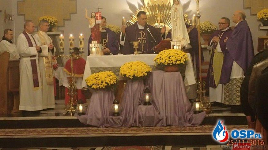 Msza św. w intencji zmarłych strażaków OSP Ochotnicza Straż Pożarna