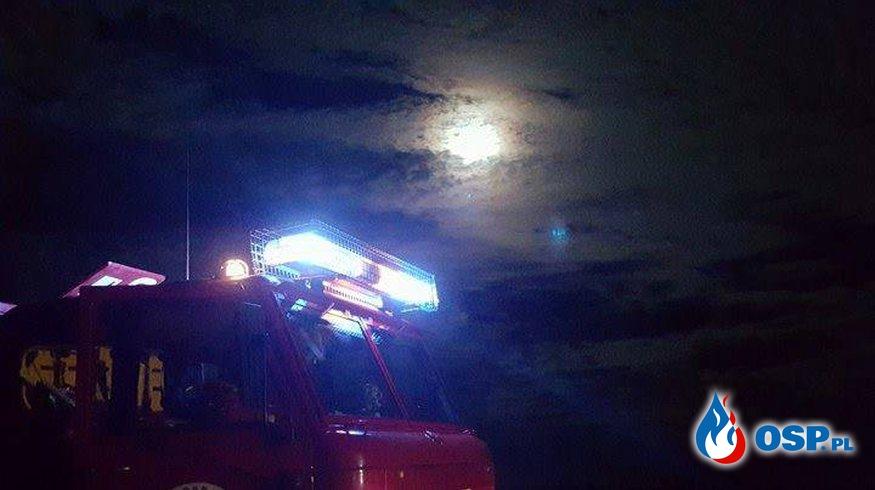 POŻAR ŚCIERNISKA OSP Ochotnicza Straż Pożarna