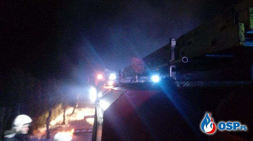 Pożar Budynku Mieszkalnego (nagranie) OSP Ochotnicza Straż Pożarna
