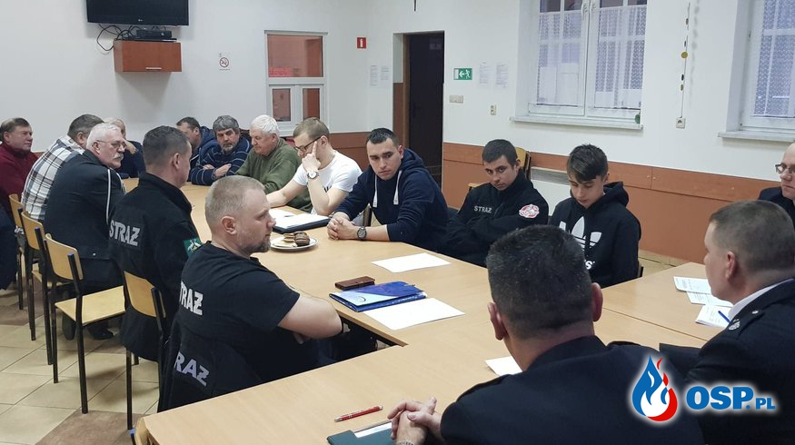 Zebranie sprawozdawcze – za 2018 OSP Ochotnicza Straż Pożarna