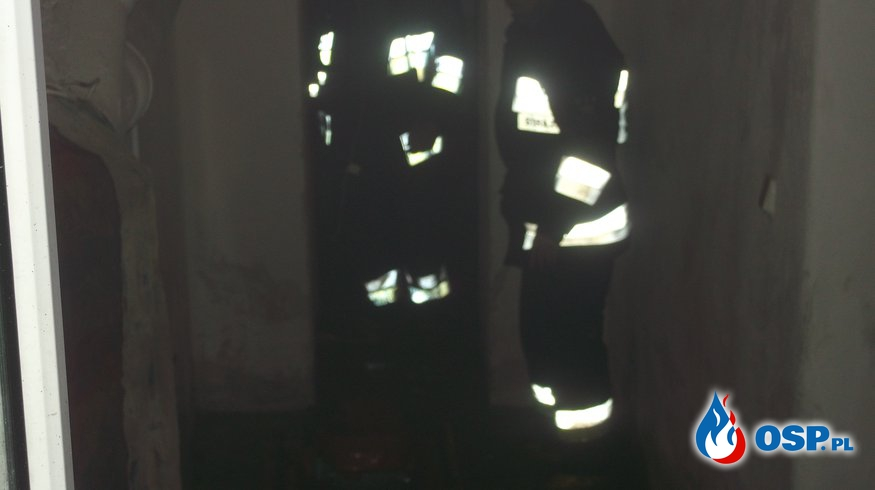 Intensywne opady deszczu OSP Ochotnicza Straż Pożarna