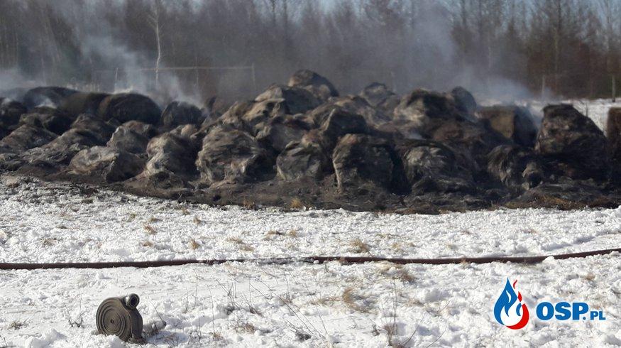 18,03,2018 12:55 Pożar beli siana Małomice OSP Ochotnicza Straż Pożarna