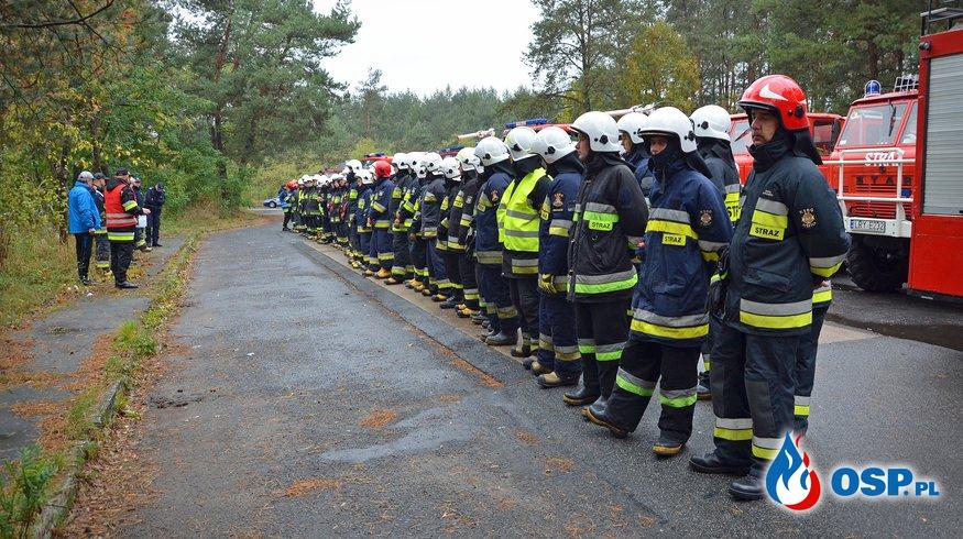 Powiatowe Ćwiczenia Zgrywające Straży Pożarnej 2016 (pow. rycki) OSP Ochotnicza Straż Pożarna