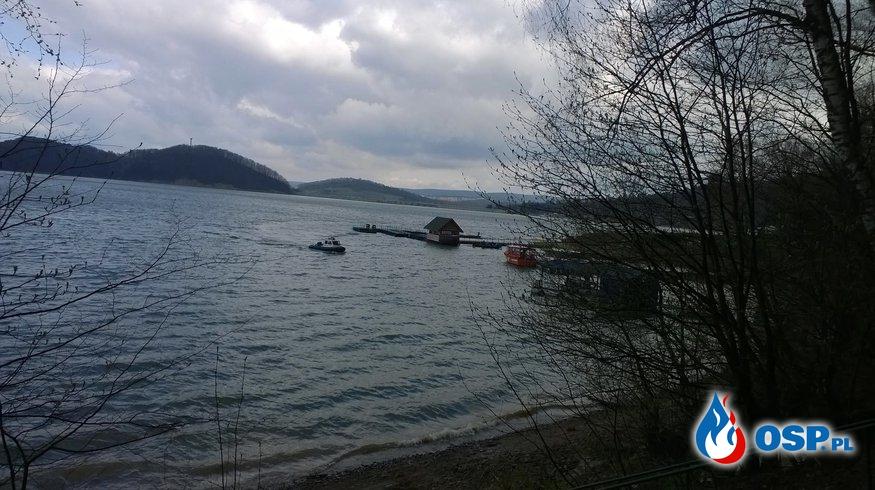 Sprzątanie brzegów Jeziora Solińskiego OSP Ochotnicza Straż Pożarna