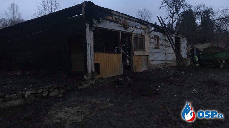 Rodzina z Załuża w pożarze utraciła wszystko. Pomóżmy Im odbudować dom OSP Ochotnicza Straż Pożarna