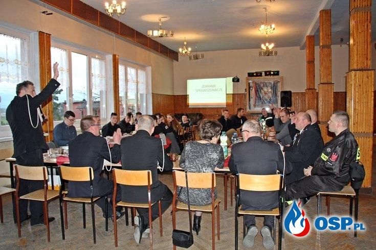 Zebranie sprawozdawcze 2019 OSP Ochotnicza Straż Pożarna