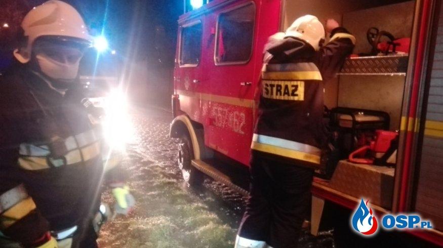 Nawałnica w Gminie Miękinia - 23.02.2020 OSP Ochotnicza Straż Pożarna