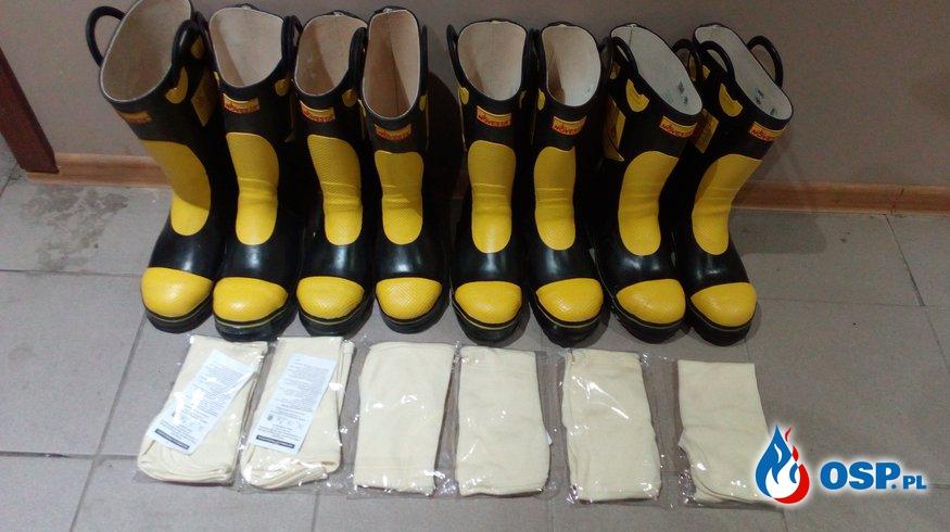 Zakupy z dotacji WFOŚiGW w Białymstoku OSP Ochotnicza Straż Pożarna